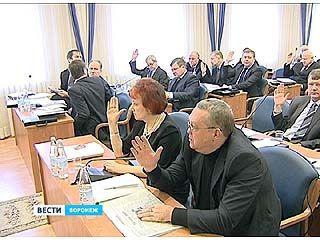 Бюджет Воронежа 2013 - главный вопрос на заседании городской думы