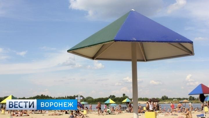 С началом лета для воронежцев откроются четыре пляжа в черте города