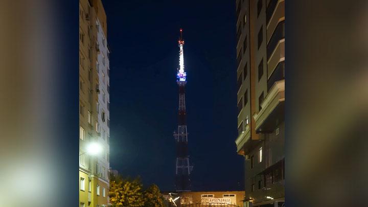 Воронежская телебашня засияет цветами российского триколора