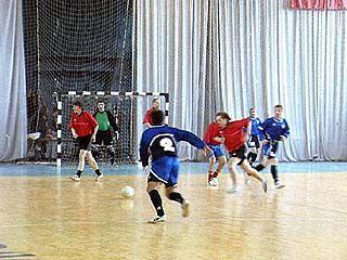 Чемпионат по мини-футболу достиг своего экватора