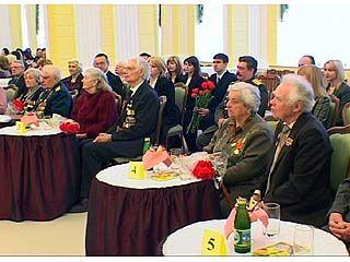 Чествование ветеранов состоялось во Дворце бракосочетаний