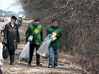 Чистым Воронеж можно назвать только условно