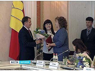Cотрудники Воронежского авиазавода принимали поздравления