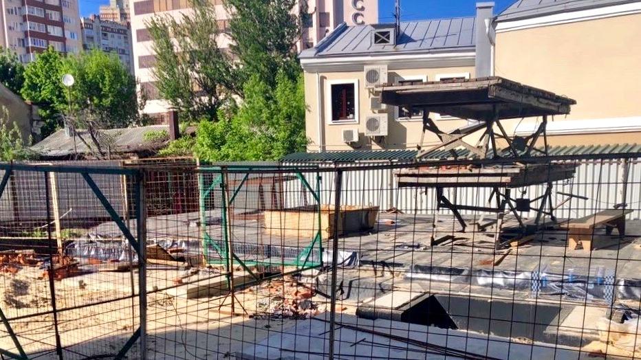 Суд запретил стройку офисного здания в центре Воронежа