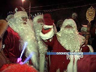 Дед Мороз из Воронежа отправился в гости к карельскому герою Паккайне