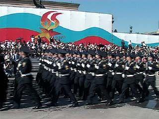 День Победы в Воронеже отпраздновали тысячи горожан и гостей области
