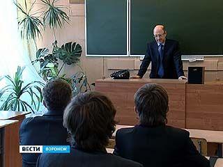 Депутат госдумы Александр Бабаков встретился с воронежскими школьниками