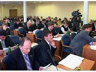 Депутаты городской думы обсудили ряд вопросов