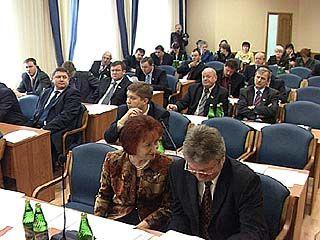 Депутаты Облдумы соберутся на 30 заседание