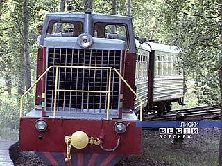 Детская железная дорога в Лисках закрывается на ремонт