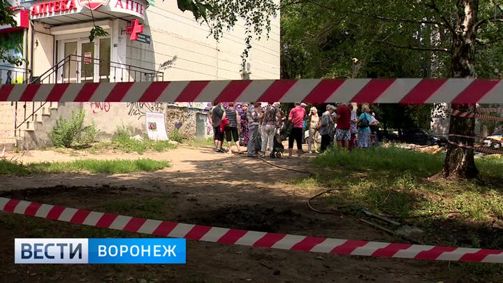 Воронежцы возмущены возведением пристройки к их многоквартирному дому