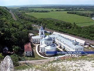 Дивногорский мужской монастырь продолжает восстанавливаться