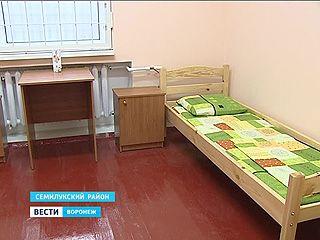 Дом для свиданий построили для осужденных в Семилукской колонии