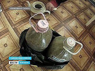 Домашние заготовки наркодилера обнаружили полицейские