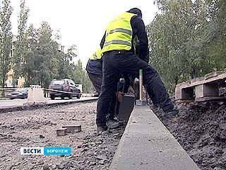 Дороги в Воронеже продолжают расширять