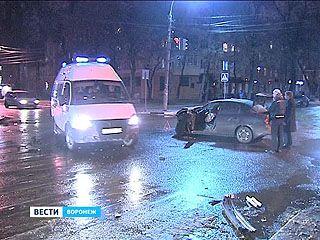 ДТП на Карла Маркса: один пострадавший, четыре покорёженных машины