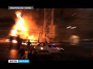 ДТП на Плехановской закончилось пожаром - водитель погиб на месте, пассажир в больнице с ожогами