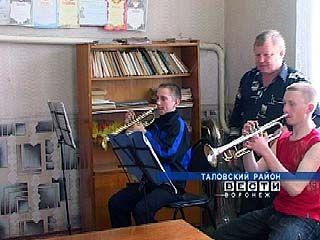Духовой оркестр Таловского района набирает популярность