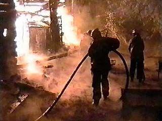 Двое детей погибли при пожаре