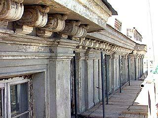 Дворец Бракосочетаний восстанавливали более ста строителей