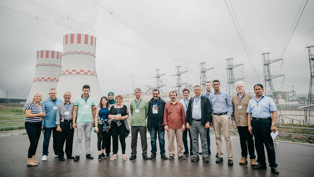 Нововоронежскую АЭС посетили преподаватели вузов из стран-новичков в атомной энергетике