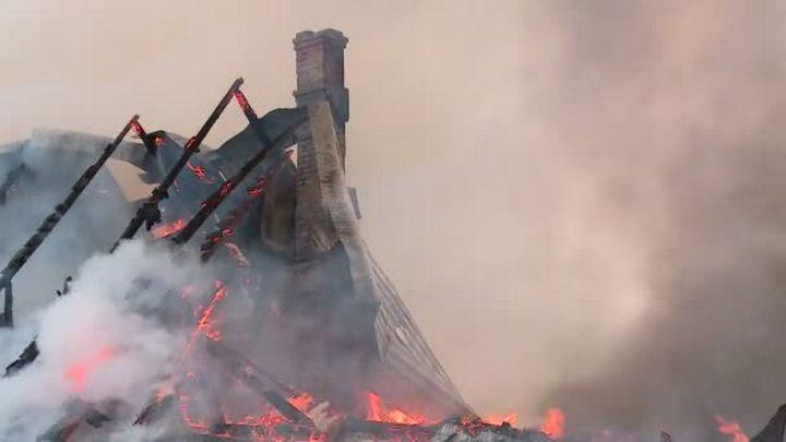 Под Воронежем при пожаре погибла семья из трёх человек