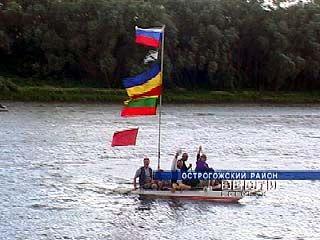 """Экспедиция """"Донской караван жизни"""" отправилась в путешествие по воде"""