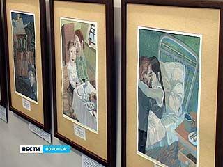 Экспозиция иллюстраций к книгам Андрея Платонова открылась на Кирова