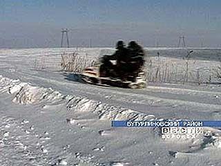 Электрики осваивают снегоходы
