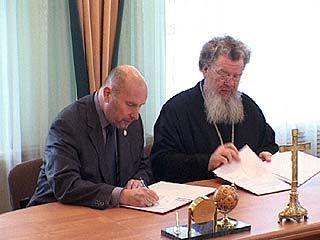 Епархия и медакадемия заключили договор о сотрудничестве