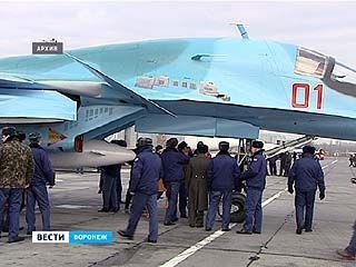 Эскадрилья СУ-34 Воронежского авиаполка Западного военного округа вернулась в область