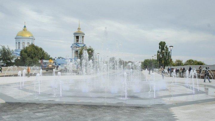 Реконструкцию смотровой площадки у Советской площади в Воронеже завершат к сентябрю