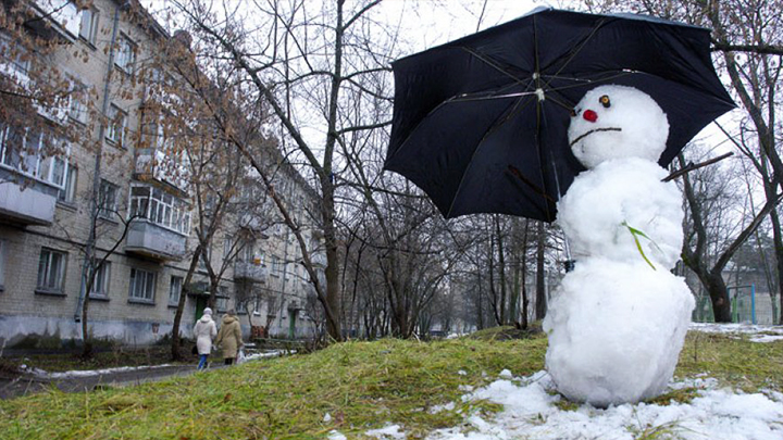 В Воронежской области последние дни уходящего года будут пасмурными и тёплыми