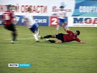 """Футболисты """"Факела"""" обыграли подмосковные """"Химки"""""""