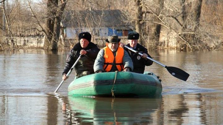 Воронежские полицейские вышли на охрану имущества эвакуированных из-за паводка людей
