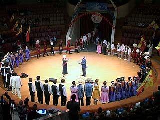 Гала-концерт фестиваля иностранных студентов прошел в Воронеже
