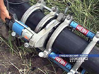 Газовики перешли на установку полиэтиленовых труб