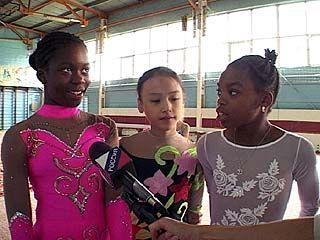 Гимнастки из Америки посетили Воронеж