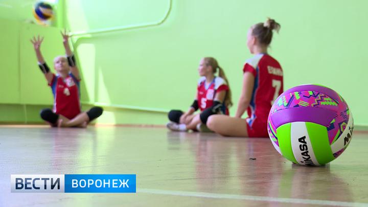 Детский спортивный клуб в Воронежской области получил новое снаряжение для волейбола