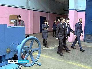 Глава области Алексей Гордеев посетил ещё один будущий кластер