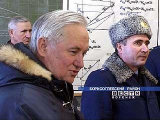 Глава области совершил рабочую поездку в Борисоглебск