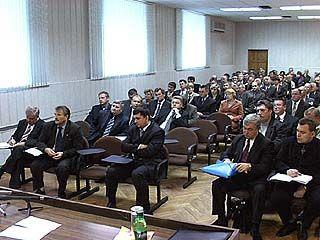 Глава управы Ленинского района предоставил итоговый отчет за 2010 год