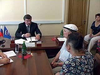Глава Воронежа Сергей Колиух провёл приём граждан