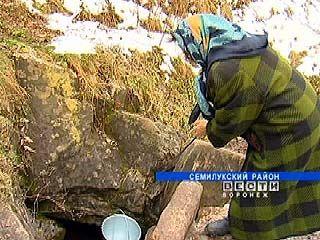 Главная проблема села Ендовище - отсутствие воды