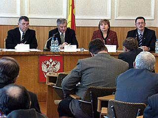 Главы муниципальных образований встретились в областной администрации