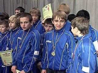 Городская федерация футбола чествовала юных футболистов