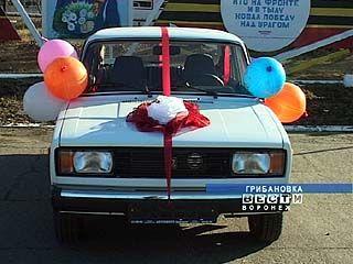 Грибановские милиционеры получили к празднику автомобиль