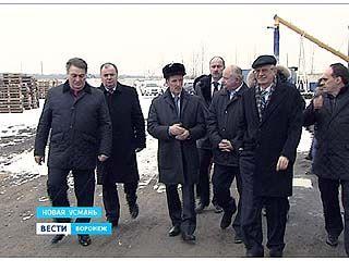 Губернатор Алексей Гордеев оценил, как развивается экономика в Новой Усмани