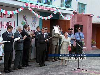 Губернатор Алексей Гордеев посетил школу села Костёнки