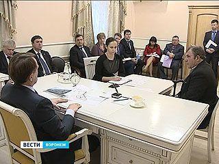 Губернатор Алексей Гордеев провёл приём граждан